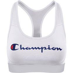 Champion Plus Absolute Workout Logo Print Sports Bra