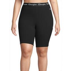 Plus Authentic Solid Bike Shorts