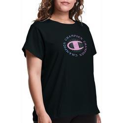 Plus Front Graphic Logo T-Shirt