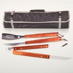 3-pc. BBQ Tools Tote Set
