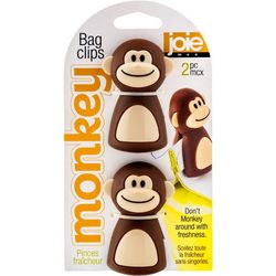 2-pc. Monkey Bag Clips