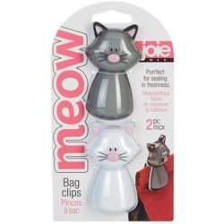 2-pc. Meow Cat Bag Clip Set