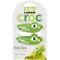 2-pc. Croc Head Bag Clip Set