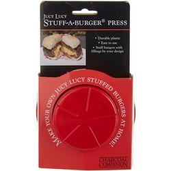 Charcoal Companion Jucy Lucy Stuff-A-Burger Press