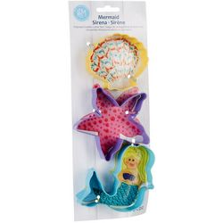 3-pc. Mermaid Cookie Cutter Set