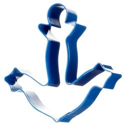R&M International Blue Anchor Cookie Cutter