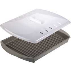 Prep Solutions Microwave Bacon Grill With Lid