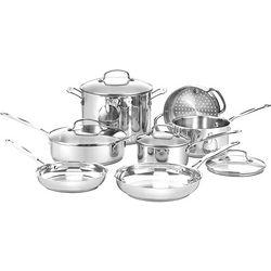 Cuisinart 11-pc. Chef's Classic Cookware Set