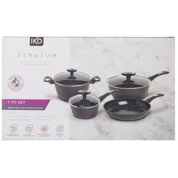 IKO Stratum 7-pc. Aluminum Ceramic Nonstick Cookware Set