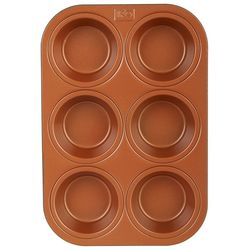 IKO 6 Cup Copper Muffin Pan
