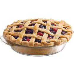 Baker's Basics Premium Glass Deep Pie Dish