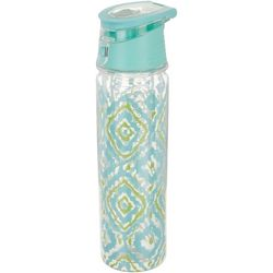 Key Lime Lexi Ikat Water Bottle