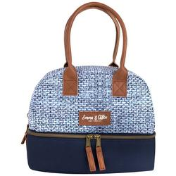Woven Insulated Lunch Tote