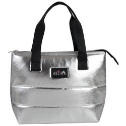Metallic Insulated Lunch Tote