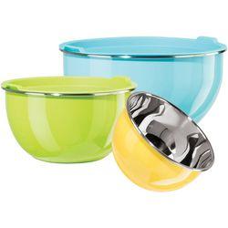 OGGI Corporation 6-pc. Stainless Steel Mixing Bowl Set