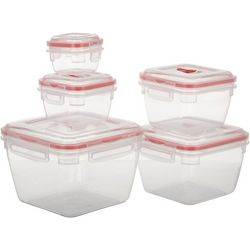10-pc. FreshClip Storage Container Set