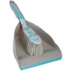 2-pc. Damask Handy Dustpan Set