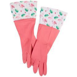 Flamingo Rubber Gloves