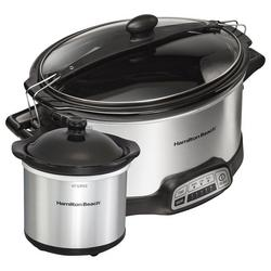 6 Qt. Programmable Stay Or Go Slow Cooker