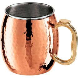 OGGI Corporation Hammered Copper Plated Mule Mug