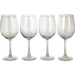 4-pc. Radiance White Pearl Wine Glass Set