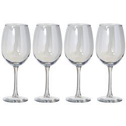 4-pc. Radiance Pearl Wine Glass Set