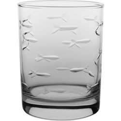 Rolf Glass 14 oz. Fish Double Old Fashioned Glass