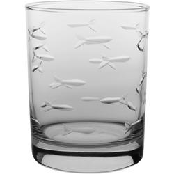 14 oz. Fish Double Old Fashioned Glass