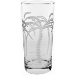 Rolf Glass 15 oz. Palm Tree Cooler Glass