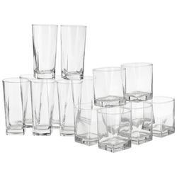 16-pc. Bristol Glass Set