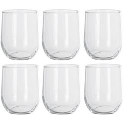 Libbey 6-pc. Salinas Stemless Wine Goblet Set