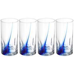 4-pc. 16.7 oz. Impressions Glass Set