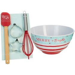 Key Lime Lexi Merry & Bright Mixing Bowl