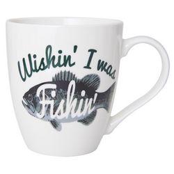 Pfaltzgraff Wishin' I Was Fishin' Mug