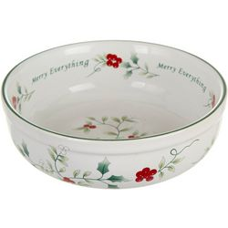 Pfaltzgraff Winterberry Merry Everything Candy Bowl