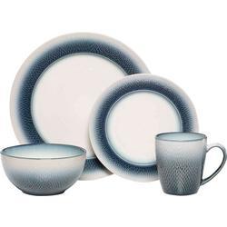 16-pc. Eclipse Blue Dinnerware Set