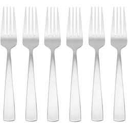 6-pc. Solid Dinner Fork Set