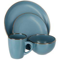Pfaltzgraff 16-pc. Hadlee Blue Dinnerware Set
