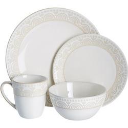 16-pc. Amelia Dinnerware Set