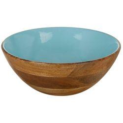 Key Lime Lexi Wooden Salad Bowl