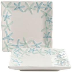 2-pc. Starfish Appetizer Plate Set