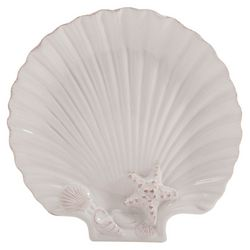 Coastal Home Shell Shaped Small Plate