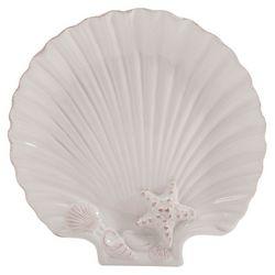Coastal Home Shell Shaped Small Plate
