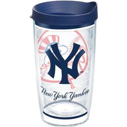 Tervis 16 oz. New York Yankees Traditions Tumbler With Lid