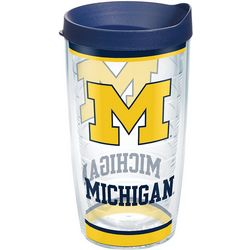 16 oz. University of Michigan Tumbler With Lid