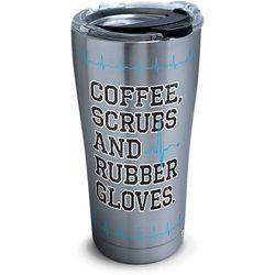 20 oz. Stainless Steel Coffee & Scrubs Tumbler