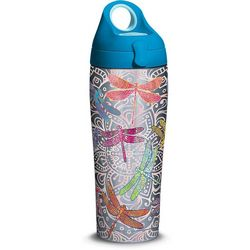 24 oz. Stainless Steel Dragonfly Water Bottle
