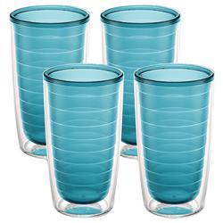 4-pc. 16 oz. Blue Tumbler Set