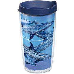 Tervis 16 oz. Guy Harvey Blue Dolphins Tumbler With Lid