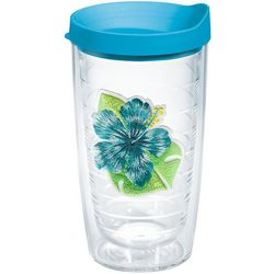 Tervis 16 oz. Island Hibiscus Tumbler With Lid